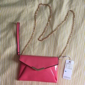 Hot pink small Urban Expressions purse